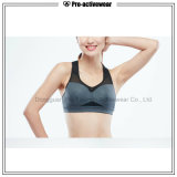 Soutien-gorge de sport sexy fait sur commande de forme physique de soutien-gorge de gymnastique de vêtements de sport en gros de femmes