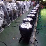 싼 DMX DJ 18PCS RGBWA 5in1 단계 15W LED 동위 빛