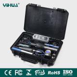 Yihua908d/Yihua8858-I Digital Lötkolben-und Heißluft-Überarbeitungs-Station-Hilfsmittel-Installationssatz