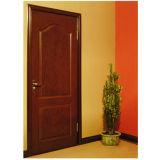 Porte de la qualité HDF avec la vue en bois (porte en bois de HDF)