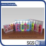 Transparenter kosmetischer Kunststoffgehäuse-Kasten