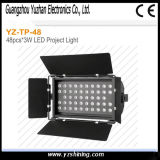 RGBW Etapa pared Waser 72pcsx3w impermeable Iluminación LED piso