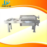 Давление фильтра с автоматической вытягивая плитой и материальной получая плитой