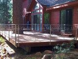 Het beste Traliewerk van de Kabel van het Roestvrij staal van de Oplossing van het Traliewerk van de Prijs voor Villa Decking