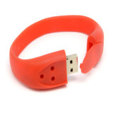 Hot Sale Custom USB Disk Wristband Bracelet USB Flash Drive