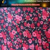 Черной/красной ткань полиэфира напечатанная тафтой для одежды куртки/малыша