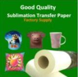 Papel de la sublimación del rodillo del papel de traspaso térmico para las materias textiles de algodón