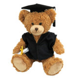 De schitterende Teddybeer van de Kwaliteit van de Verkoop van het Stuk speelgoed van de Pluche van de Graduatie Mooie Hete