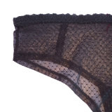 Fabriqué en Chine en culottes chaudes de fille de lacet de maille de vente