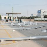 30X50 Mの耐火性の屋外アルミニウム大きい倉庫のおおいのテントの玄関ひさし