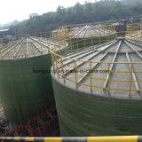 大きい縦のガラス繊維/FRPタンク