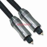Câble optique à fibre optique Toslink à vente chaude