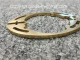 Profil ovale personnalisé de forme d'extrusion en aluminium