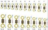 Латунь удя снасти 2 цвета удваивает шарнирные соединения завальцовки цвета