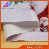 Bandera brillante blanca Rolls de la flexión de los media de la impresión del surtidor 440GSM de China