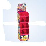 Mode d'affichage en carton avec 3 étages, POS Shelf Affichage