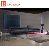 Sofá de couro puro do sofá moderno do Recliner para a sala de visitas