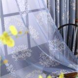 Tissu décoratif de rideau en arrêt total de type de pays (01F0005)