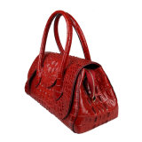 Crocodile Leather Handbag Ladies Shoulder Tote Bag Fashion Handbags