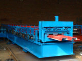 Kalte Stahlfußboden-Profil-Rolle, die Maschine bildet