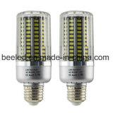 La luz E27 25W del maíz del LED refresca la lámpara de plata blanca del bulbo de la carrocería LED del color