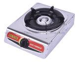 Bruciatore a gas portatile del bruciatore dell'acciaio inossidabile singolo