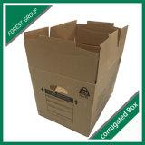 Cadre principal se pliant de carton de carton ondulé