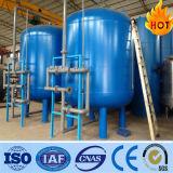 filtro de água ativo do carbono do processo do tratamento da água 10-100t/H