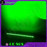 18X3w RGB屋外の防水LEDの線形壁の洗濯機