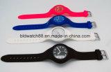 3ATM делают движение водостотьким японии wristwatches силикона женщин