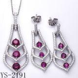 Juwelen 925 van de manier de Echte Zilveren Reeks van Juwelen