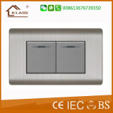 Le plus récent design Hot Selling 2 Lever Light Switch
