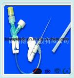 Tubo del conector del sitio del uso Y de Hospitcal para la sangre que da el catéter médico de la fuente de China