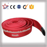 10bar mangueira de incêndio vermelha do revestimento de 2.5 polegadas única para a venda