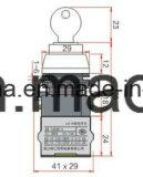 열쇠 구멍 IP40 중요한 유형 누름단추식 전쟁 스위치 (LA118M 시리즈)