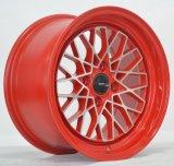 赤い機械表面が付いているアフター・マーケットの合金の車輪
