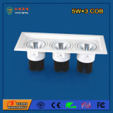 Lumière de gril de l'aluminium 2700-6500k 15W DEL pour le système de mode