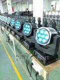 7PCS 15W avec l'ampoule 4 in-1 de DEL soit tête d'oeil et lumière mobiles d'étape