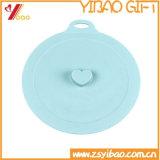 Крышка чашки силикона изготовленный на заказ качества еды симпатичная