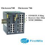 4Gポートが付いているギガビットによって管理されるファイバー産業スイッチ