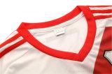 Calcio su ordinazione asciutto freddo Jersey del randello di sublimazione di fabbricazione di alta qualità di disegno di sport nuovo