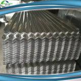 Chapa de aço da telhadura ondulada do zinco do metal do telhado do material de construção