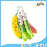 製造の価格のニンニクのバナナによって形づけられる携帯用シリコーンの筆箱かボックス