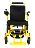 Cadeira de rodas elétrica de alumínio Handicapped ultra leve com bateria de lítio
