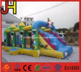 Kinder Belüftung-Plane-Clown-aufblasbares kombiniertes Prahler-Plättchen