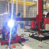 자동적인 압력 용기 경도 똑바른 솔기 용접 기계장치