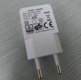 Dünner Aufladeeinheits-Adapter mit Weiß der USB-Ausgabe-5V1a