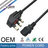 Sipu BRITISCHES Stecker-Bedingung 6FT PC Energien-Kabel für Computer
