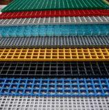 Reja de alta resistencia de FRP, reja de la fibra de vidrio, plataforma de la rejilla de Gfrp