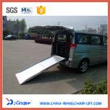 De Hellingen van de Lading van de Rolstoel van het aluminium voor de Passagier van de Rolstoel